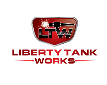 Liberty Tank Works logo design