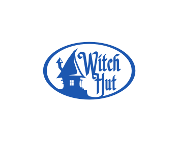 Witch Hut logo design