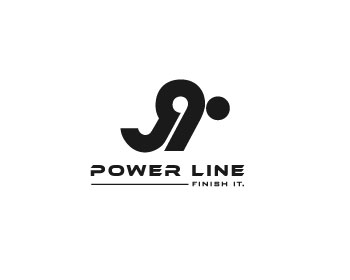 J9 Power Line logo design