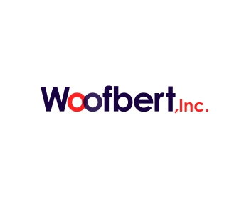 Woofbert, Inc. logo design