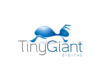 Tiny Giant Digital Ltd logo design
