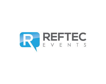 REFTEC events logo design