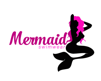 logo design entry number 134 by arietta mermaid swimwear logo contest rh logoarena com mermaid logo art mermaid logo shirts