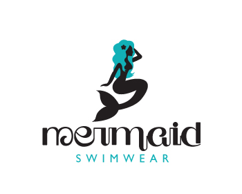 Mermaid Swimwear logo design