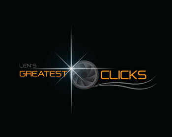 Len's Greatest Clicks logo design
