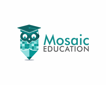 Education logo design for Mosaic Education