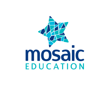 Mosaic Education logo design