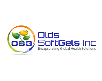 Olds Softgels Inc. logo design