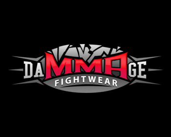 Damage Fightwear logo design