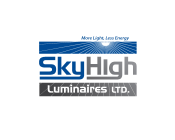 Sky High Luminaires Ltd. logo design