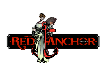 Red Anchor logo design