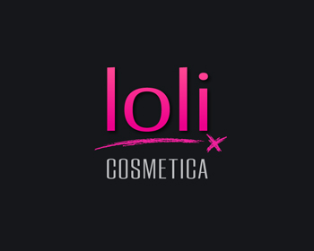 Loli Cosmetica International logo design