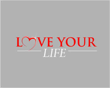 LOVE YOUR LIFE events logo design