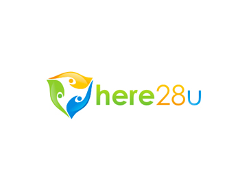 Here28u logo design