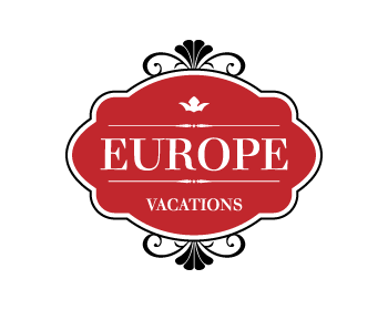 Europe Vacations logo design