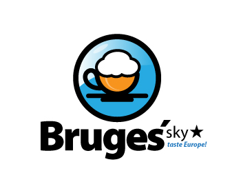 Logo design for Bruges' Sky