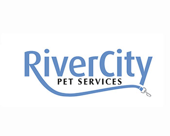 River City Pet Services logo design