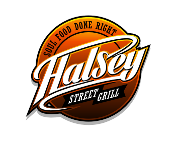 Logo design for HALSEY STREET GRILL