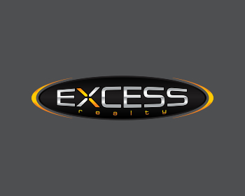 excess realty logo design