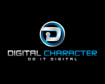 Logo digital character