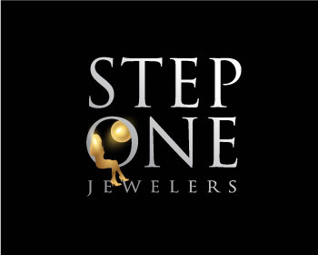 Step One Jewelers logo design