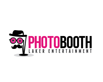 Laker Entertainment Photo Booth logo design