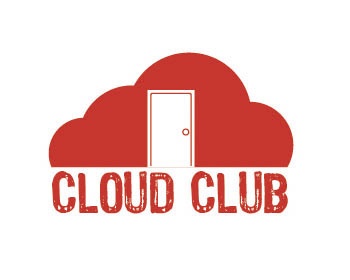 Cloud Club logo design