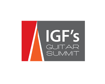 IGF's Guitar Summit logo design