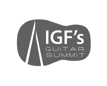 Logo design for IGF's Guitar Summit