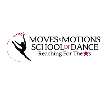 Moves & Motions School of Dance logo design
