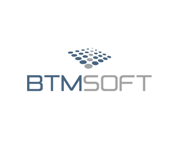BTMsoft logo design