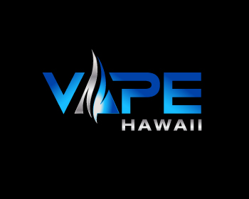 Vape Hawaii logo design