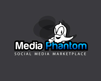 Media Phantom logo design