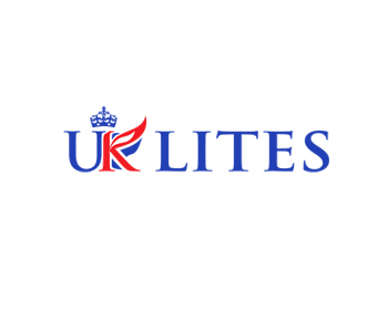 UK LITES logo design