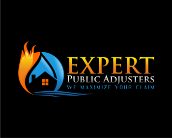 Expert Public Adjusters logo design