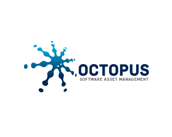 Octopus Software Asset Management logo design