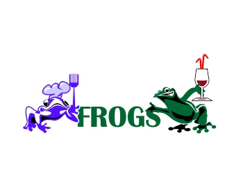 FROGS logo design
