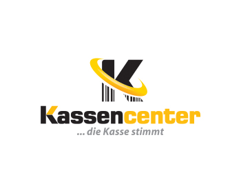 Kassencenter logo design