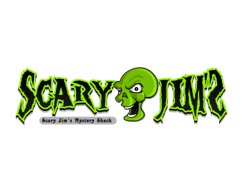 Scary Jim's logo design