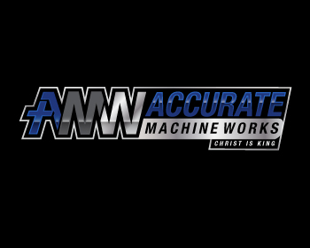 Accurate Machine Works Inc. logo design