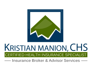 Kristian Manion, CHS - Certified Health Insurance Specialist logo design