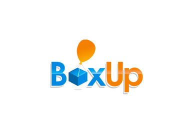 Box Up logo design
