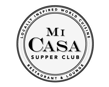 Mi Casa Supper Club logo design