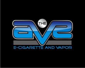 The AVE E-cigarette and Vapor logo design