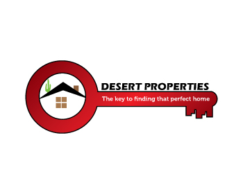 Desert Properties Real Estate logo design