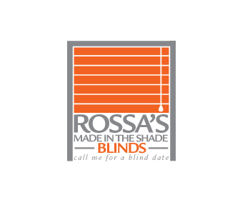 Rossa's Made In The Shade Blinds logo design