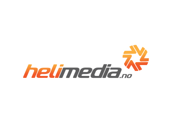 Helimedia.no logo design