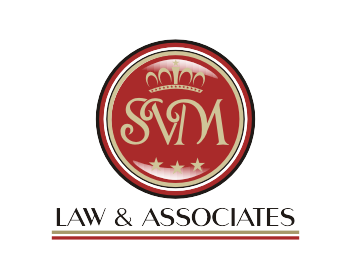 S.V.M Law & Associates logo design