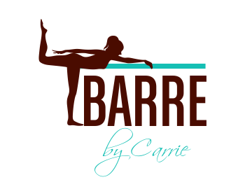 Barre by Carrie logo design