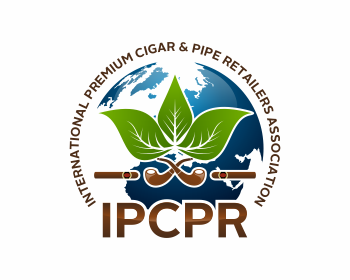 International Premium Cigar & Pipe Retailers Association logo design